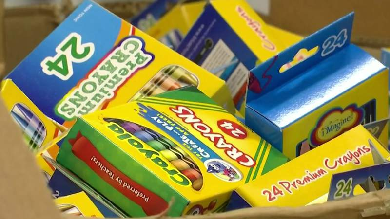 News 6 teams up with A Gift For Teaching for school supplies