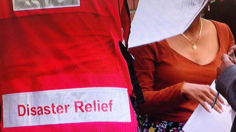 Red Cross helps families Orlando