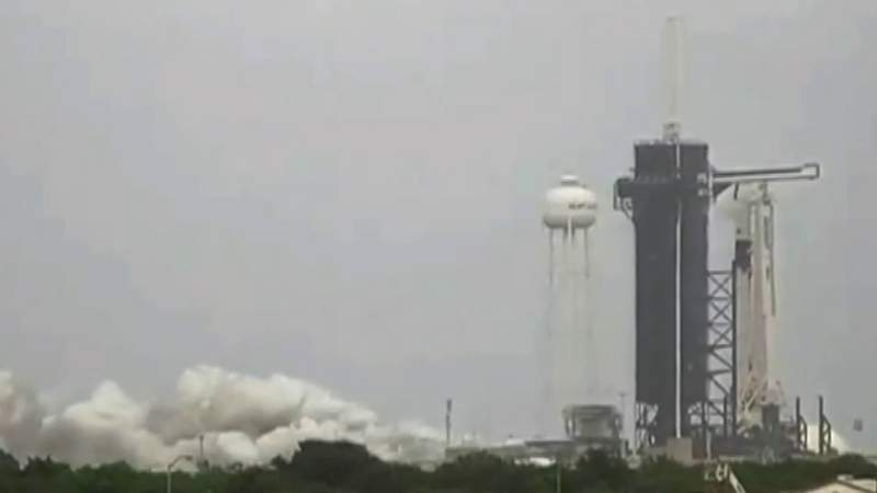SpaceX static fire success