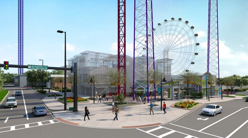 Two new record-setting attractions are coming to Orlando's ICON Park in summer 2021, the Slingshot Group of Companies announced Monday.