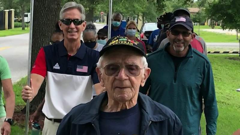 97-year-old WWII veteran from Orlando competes in VA's National Veterans Golden Age Games
