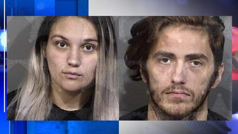 (Left) Erica Dotson, 27 (Right) Joshua Manns, 25