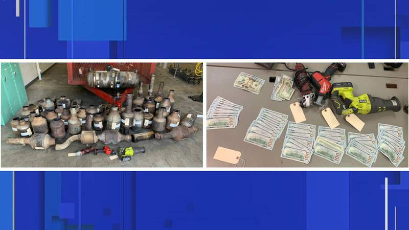 Detectives with the Volusia County Sheriff's Office said they noticed an increase in catalytic converter thefts. Five suspects have been arrested, according to the Sheriff's Office.