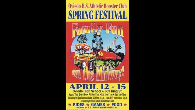 Oviedo High School Booster Club To Host Spring Festival