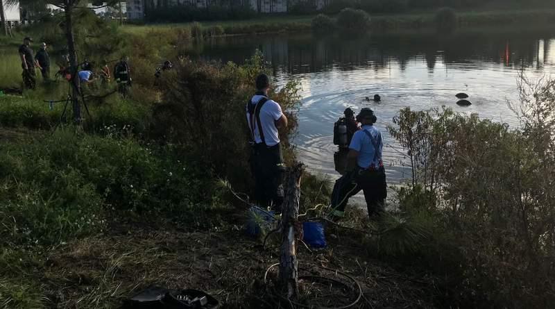 A rescue attempt is underway in Orlando.