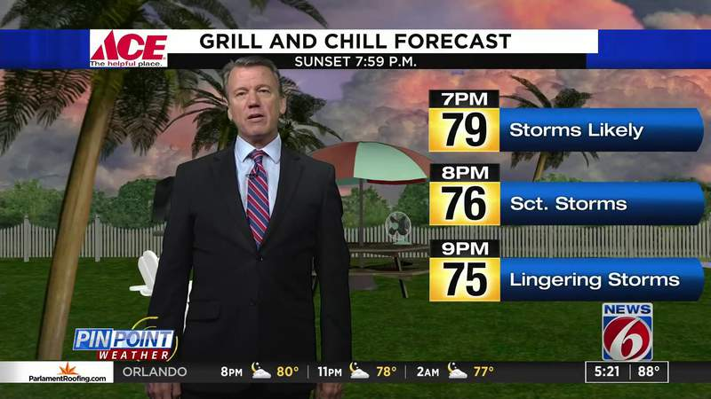 Grill & Chill -- 8/20/20