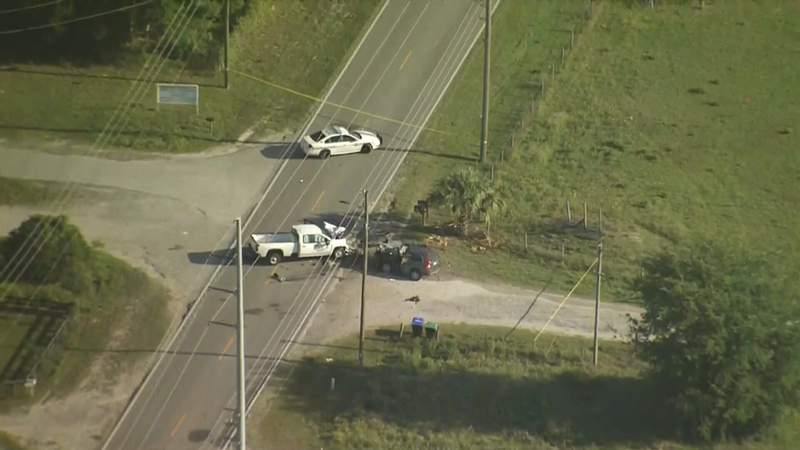 The FHP investigates a fatal crash involving two vehicles in Orange County.
