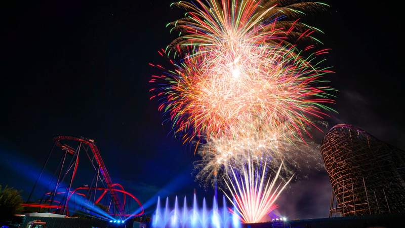 'Spark! A Nighttime Spectacular' launching nightly at Busch Gardens