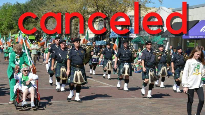 City of Winter Park cancels annual St. Patrick's Day parade. (Image: City of Winter Park)