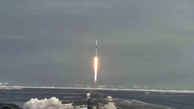 WATCH AGAIN: SpaceX launches last rocket of 2020 from Kennedy Space Center
