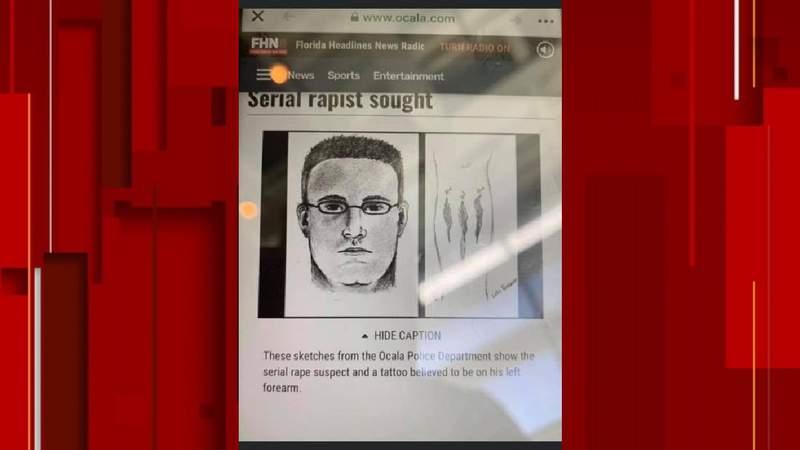 Ocala police warn of old serial rapist sketch recirculating on social media. (Image: Ocala Police Department)