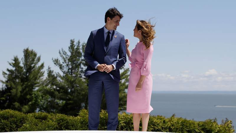 Justin Trudeau's office said Thursday night that Sophie Grégoire Trudeau is felling well and will remain in isolation.