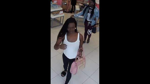 Two women are wanted in connection with a theft in Palm Bay.