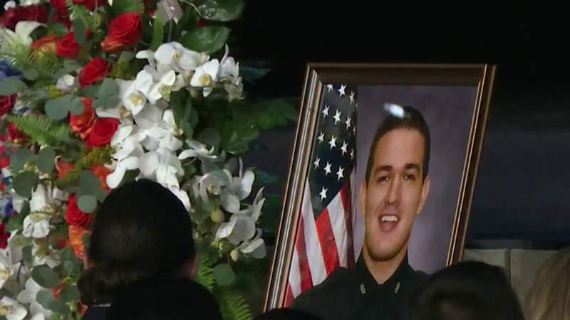 'I lost an entire future:' Fallen Officer Kevin Valencia's widow stays strong for young sons