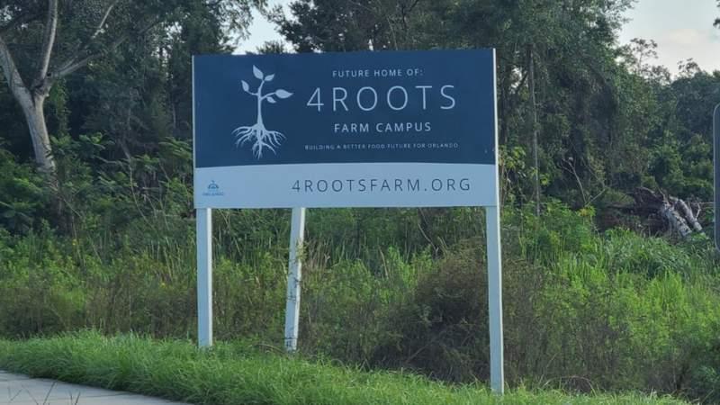4Roots sign along John Young Parkway