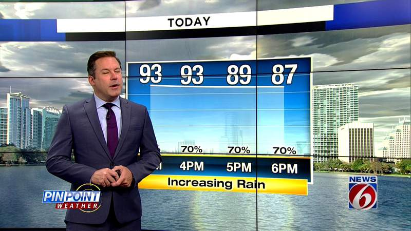 Rinse, repeat forecast: Hot and stormy