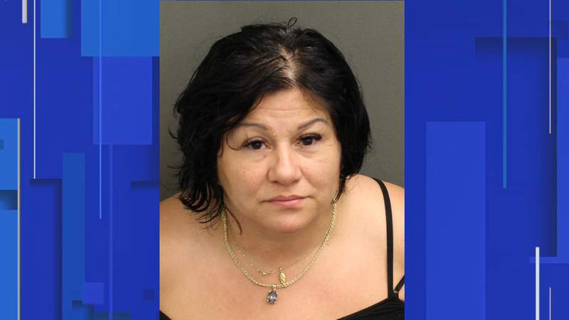 A 52-year-old Windermere woman is accused of attacking a Florida postal worker on Wednesday, according to an Orange County arrest affidavit.