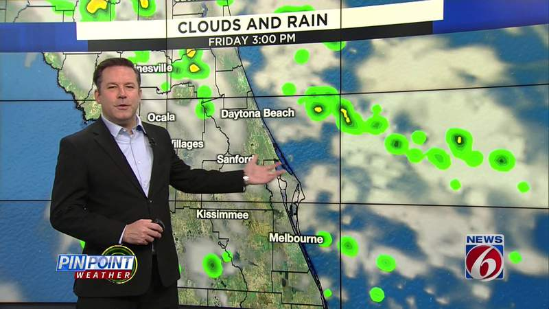 Rain chances on the rise over weekend