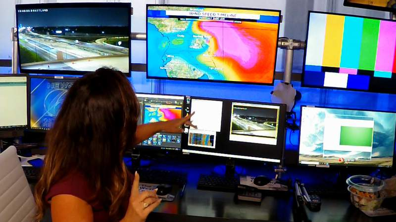 Saturday at 9:15 p.m.: News 6 weather team provides Tropical Storm Isaias update