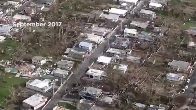 Hurricane Maria recovery efforts continue in Puerto Rico 3 years later