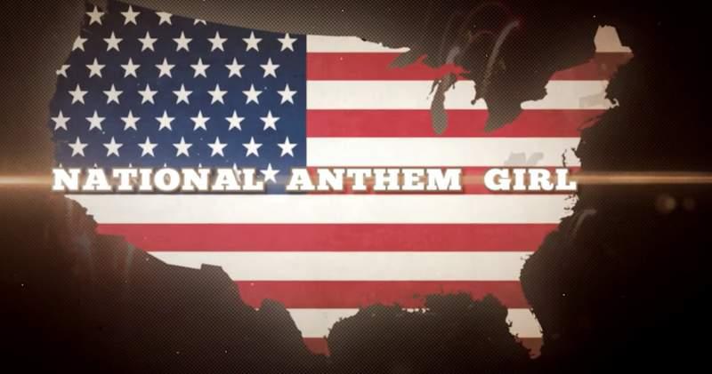"""National Anthem Girl"""