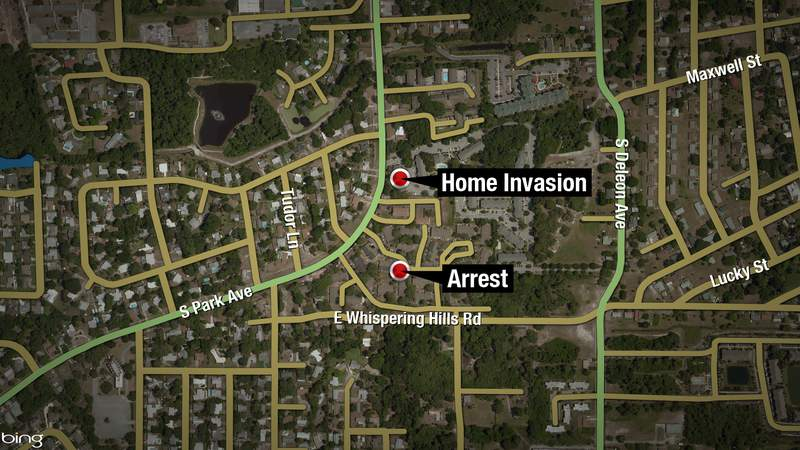 Titusville teen arrested at nearby apartment complex following a home invasion