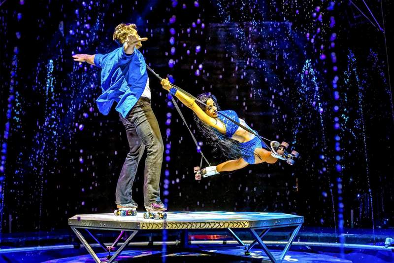 """All-new acrobatic show """"Cirque Electric,"""" beginning May 28"""
