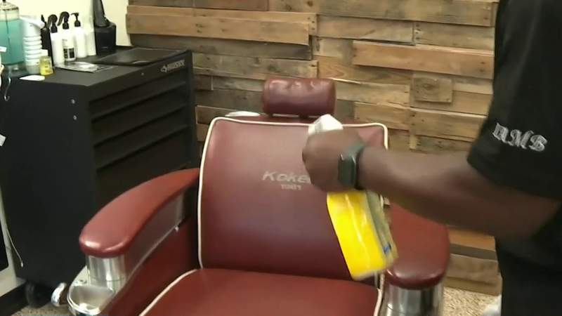 Barber shops and salons prepare to reopen