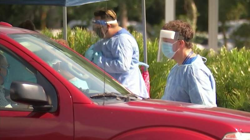 Record number of positive COVID-19 tests in Seminole County due to lab dump, leaders say