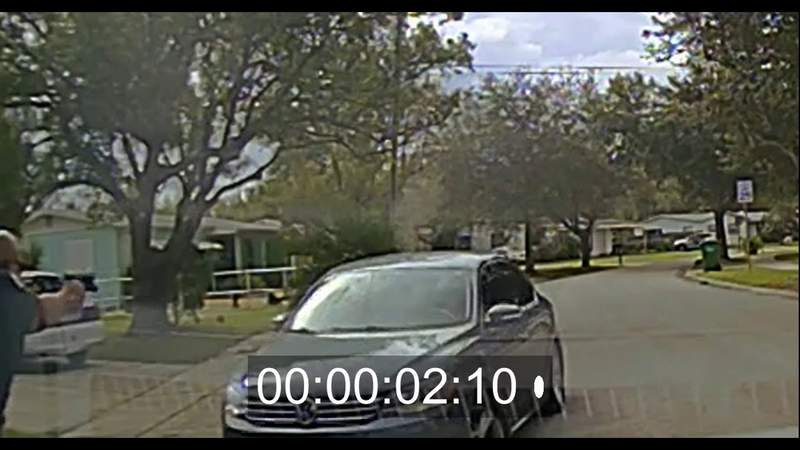 Brevard County Sheriff's Office dash cam video of Cocoa shooting