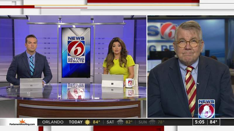 News 6 political expert weighs in on president's COVID-19 diagnosis