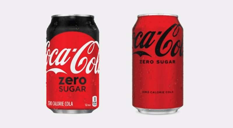 Coke Zero changing taste and look (CNN Newsource)