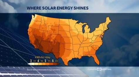 Where solar energy shines