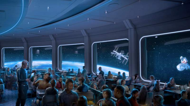 Space 220 restaurant opening Sept. 20 at EPCOT