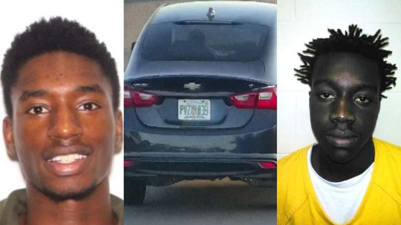 The Polk County Sheriff's Office is seeking the public's help in locating 18-year-old Tarmetris Daniel Mack and 17-year-old Alfred Higgs, Jr., both of Kissimmee/Poinciana, who both have warrants for armed robbery and first degree murder. (Images: Polk County Sheriff's Office)