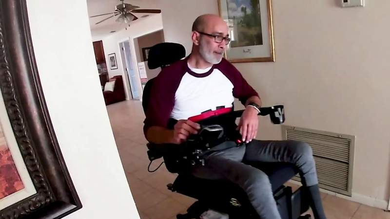 Paralyzed man suing Orange County Sheriff's Office for violating civil rights