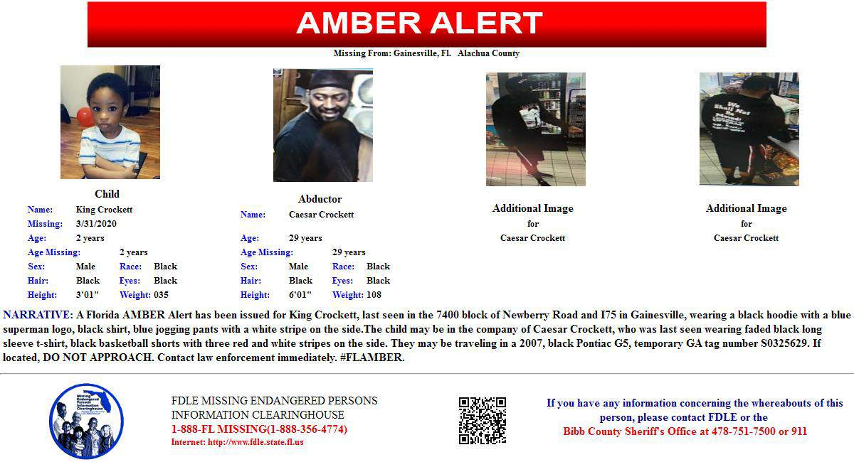 Amber Alert Update Child Safe Armed Suspect In Standoff Surrenders To Law Enforcement