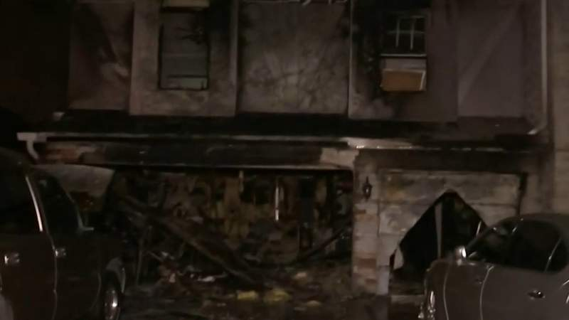 Fire damages Orange County home