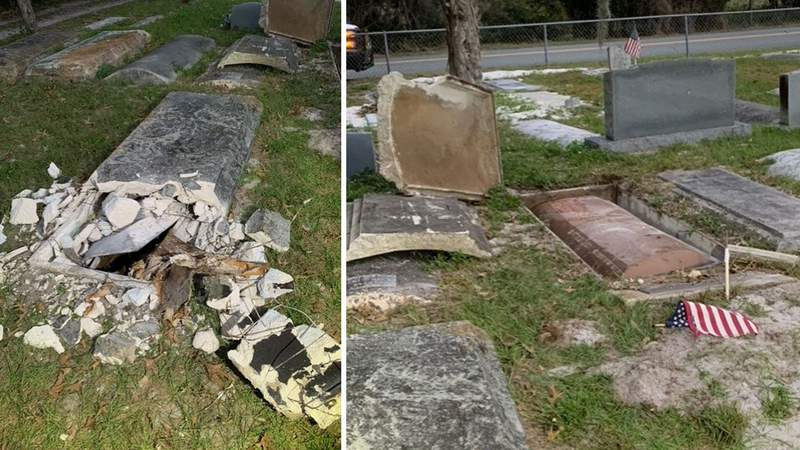 Human remains stolen from Mount Dora cemetery likely used in ritual