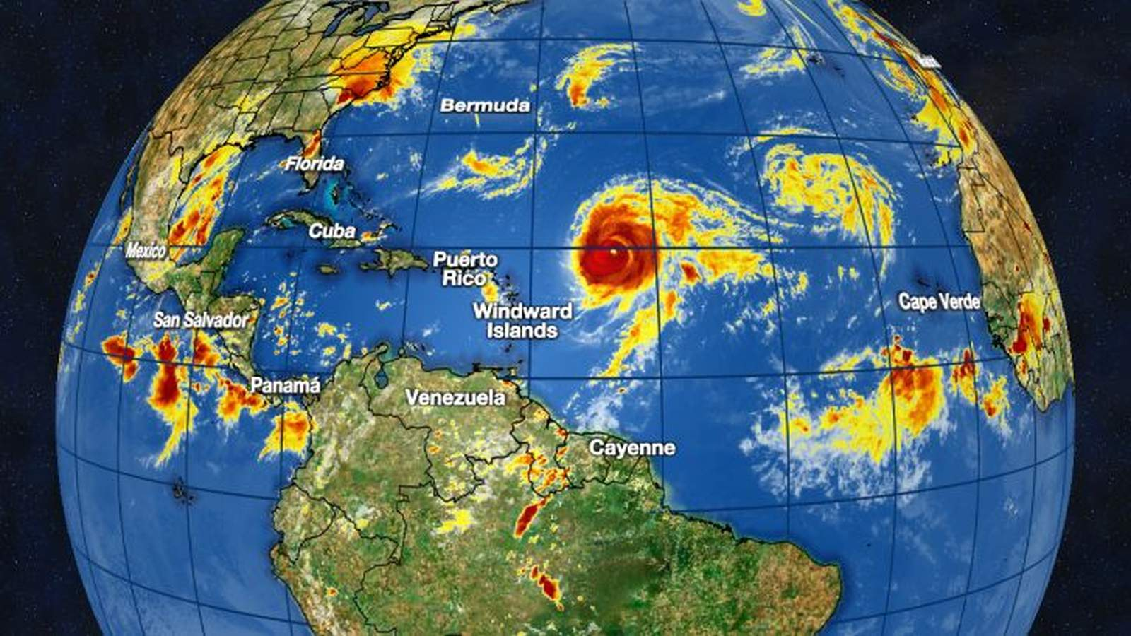 Tropical Tracker Atlantic Poised To Run Out Of Storm Names Very Soon