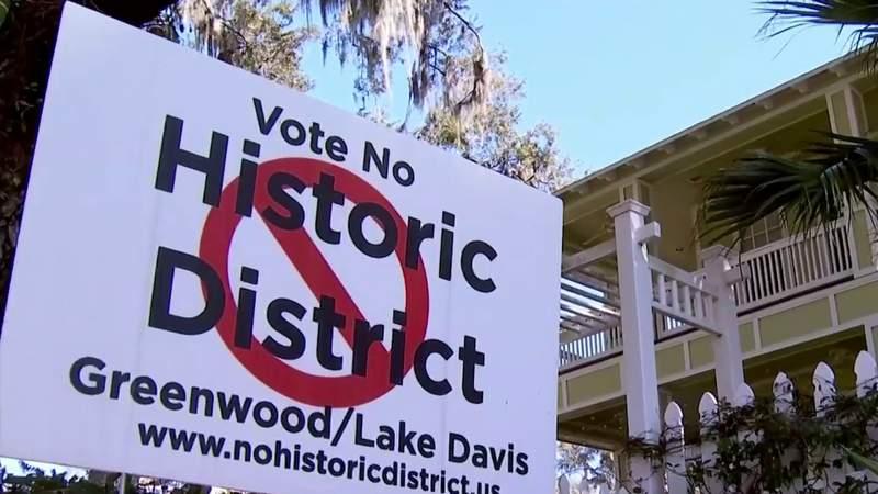 Residents in Orlando's Lake Davis-Greenwood community don't want historic neighborhood designation