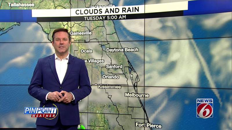 More storms to strike Central Florida