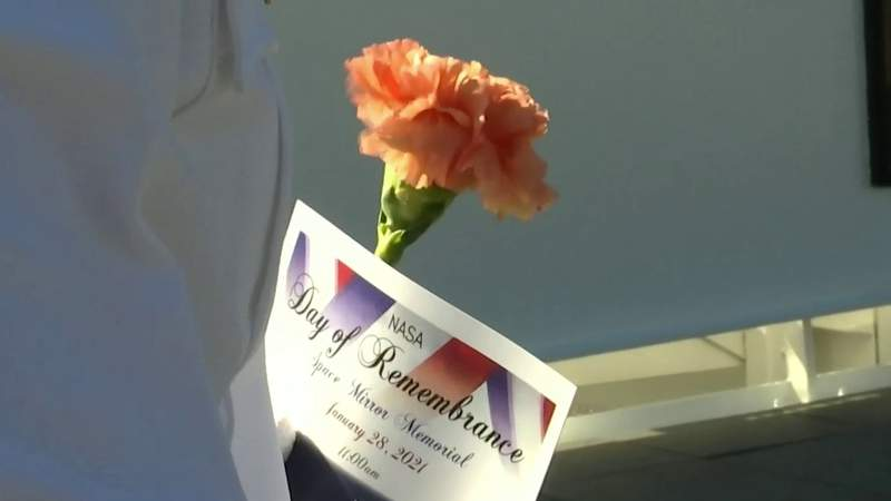 Fallen astronauts honored at Kennedy Space Center ceremony