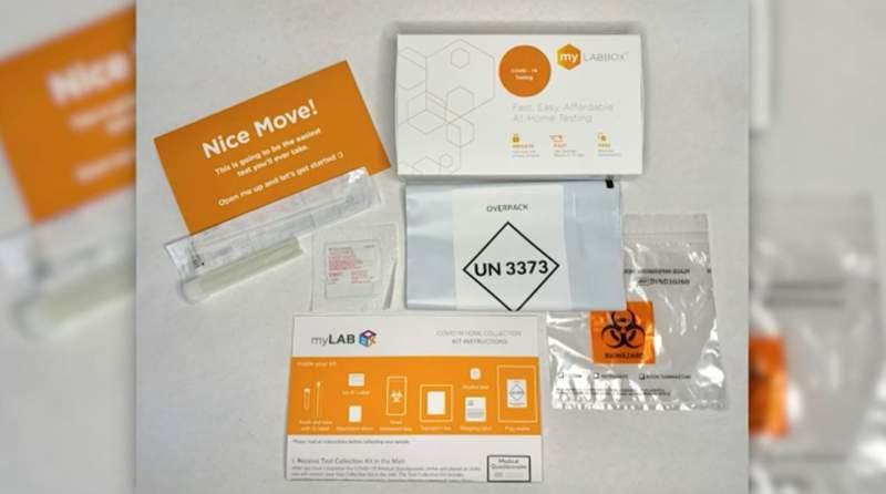 Walmart selling at-home COVID-19 test kits