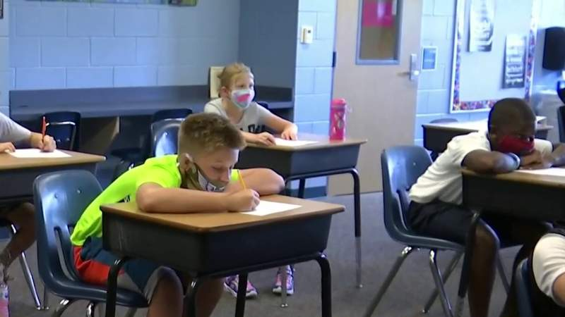 'Smooth' first day for Marion County students returning to campus