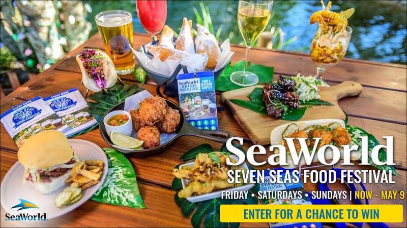 SeaWorld Seven Seas Food Festival Contest