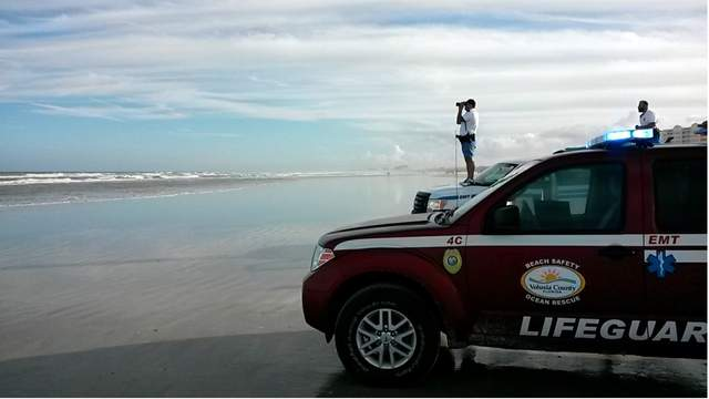 New Smyrna Beach rescueWKMG / JEFF SEGERS
