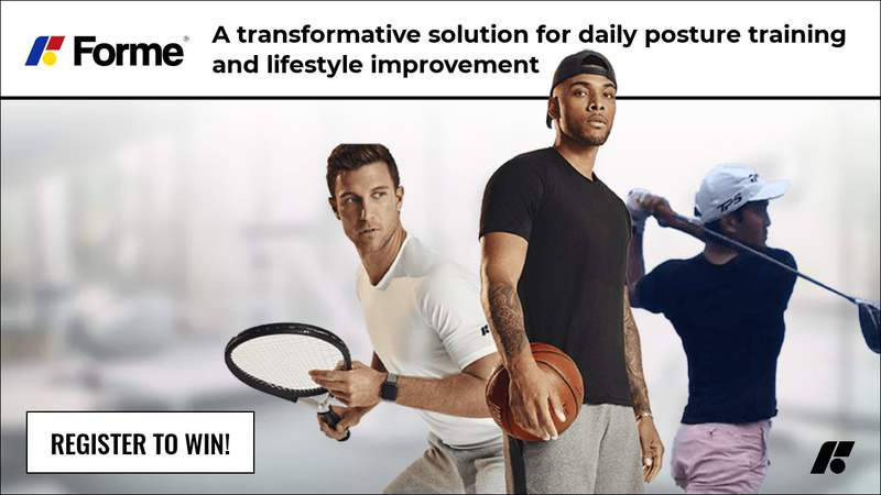 Enter for your chance to win Formewear®