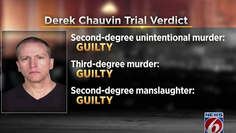 News 6 legal analyst discusses George Floyd jury verdict