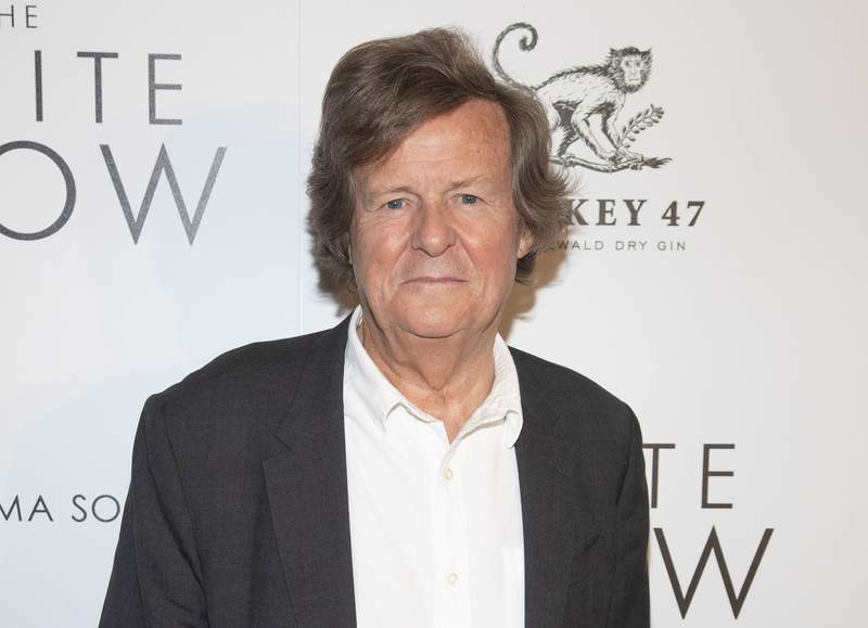 """FILE -David Hare attends a special screening of """"The White Crow"""" in New York on April 22, 2019. Hare, creator of the upcoming PBS political drama Road Kill, has written a monologue for the stage about his COVID-19 illness. (Photo by Andy Kropa/Invision/AP, File)"""